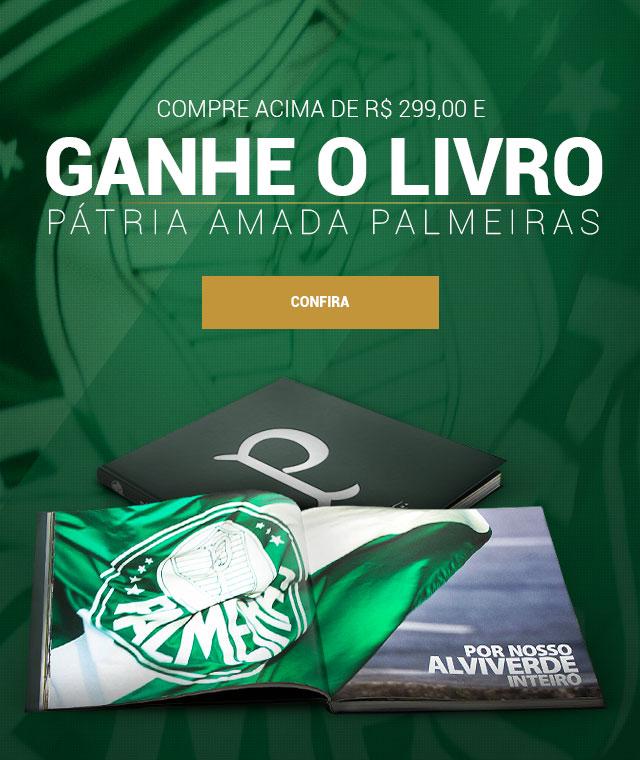 Livro Patria Amada Palmeiras
