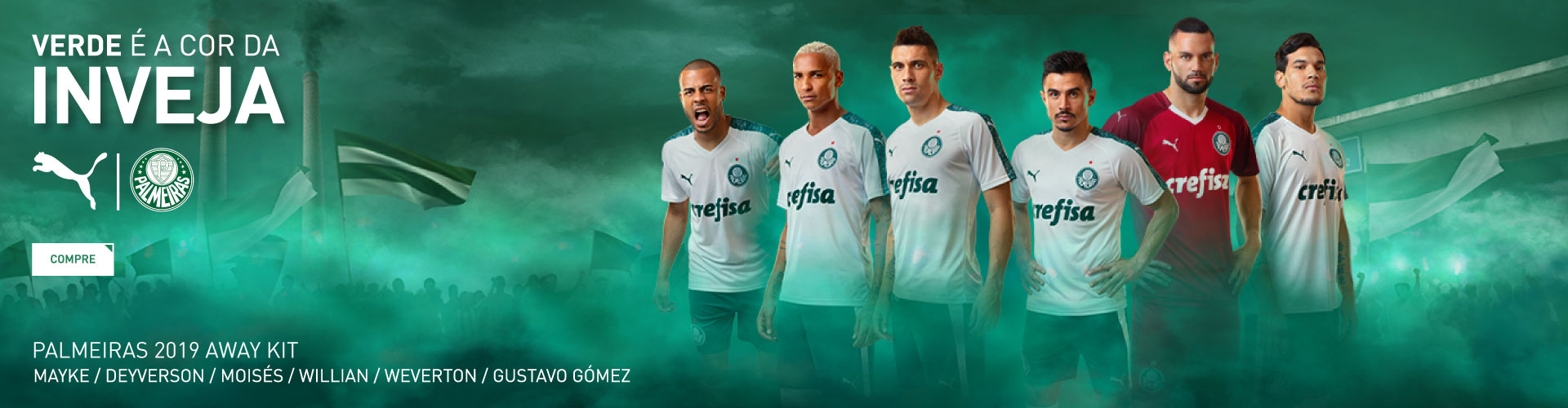 Camisa Away Puma