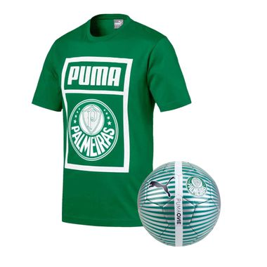 Camiseta-Casual-Palmeiras-Puma-Verde-19-20---Bola