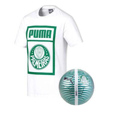 Camiseta-Casual-Palmeiras-Puma-Branca-19-20---Bola