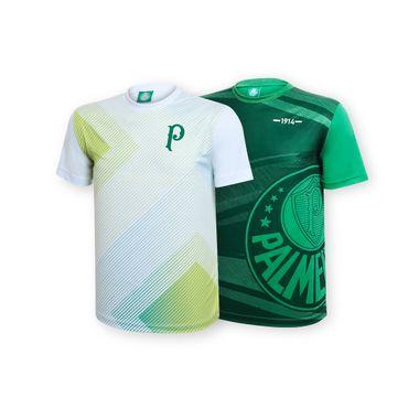 Kit-Torcedor---Camisetas-Waves-Verde-e-Squared-Branco